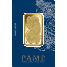 1oz Gold Bar PAMP Fortuna Veriscan