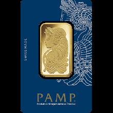 1oz Gold Bar PAMP Fortuna (PO)