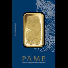 3 Tola Fortuna Gold Bar | Veriscan | PAMP Suisse