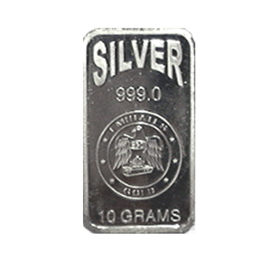 Emirates 10g Gram Silver Bar 999 0