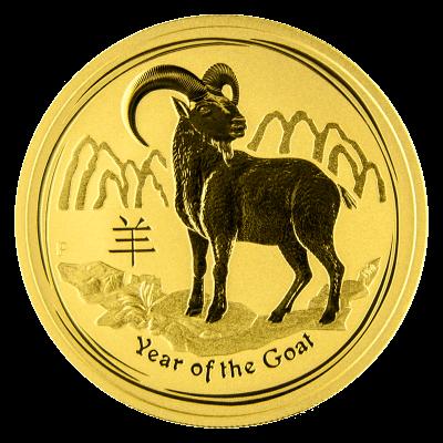 Australian Lunar Gold Coins Gold Lunar Goat Coin 999.9