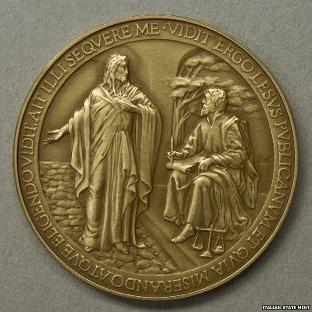 Vatican Misspelt Coin