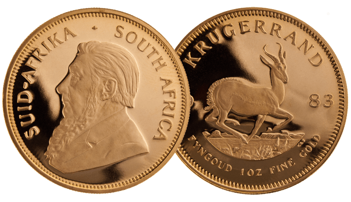 South Africa - Gold Coin