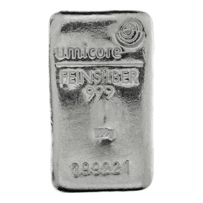 Umicore 500g Fine Minted Silver