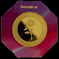 Valcambi Suisse 5 Tola Round Reverse